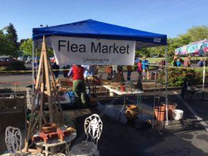Flea market at Plant Sale